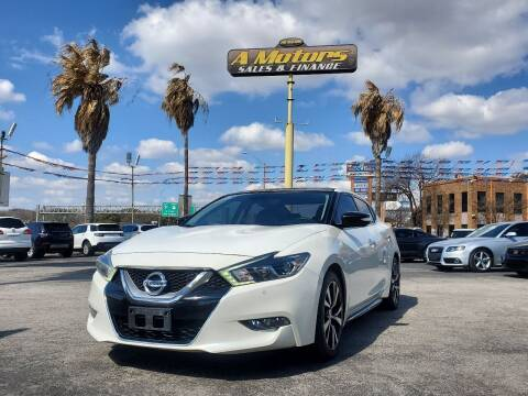 2016 Nissan Maxima for sale at A MOTORS SALES AND FINANCE in San Antonio TX