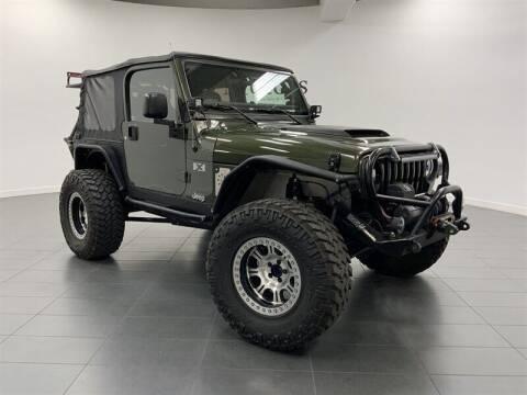 2006 Jeep Wrangler for sale at 101 MOTORS in Tempe AZ