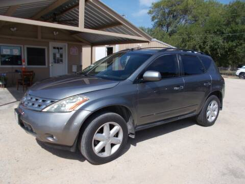 2005 Nissan Murano for sale at DISCOUNT AUTOS in Cibolo TX
