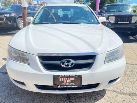2008 Hyundai Sonata for sale at Best Cars R Us in Plainfield NJ