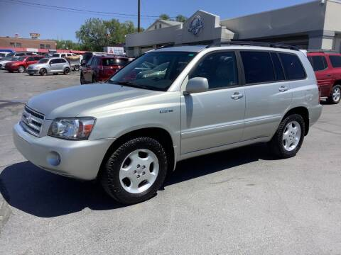 2006 Toyota Highlander for sale at Beutler Auto Sales in Clearfield UT