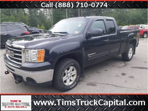 2012 GMC Sierra 1500 for sale at TTC AUTO OUTLET/TIM'S TRUCK CAPITAL & AUTO SALES INC ANNEX in Epsom NH
