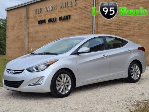 2016 Hyundai Elantra for sale at I-95 Muscle in Hope Mills NC