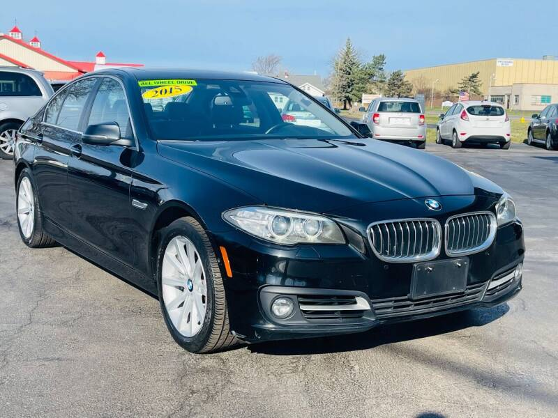 2015 BMW 5 Series for sale at Transportation Center Of Western New York in Niagara Falls NY