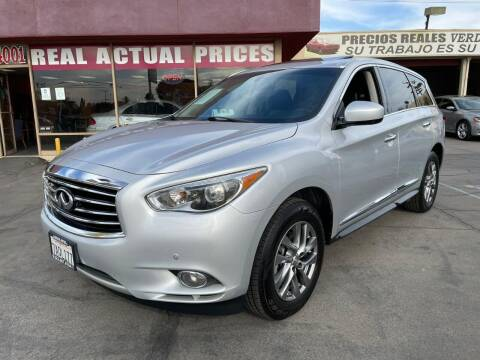 2013 Infiniti JX35 for sale at Sanmiguel Motors in South Gate CA