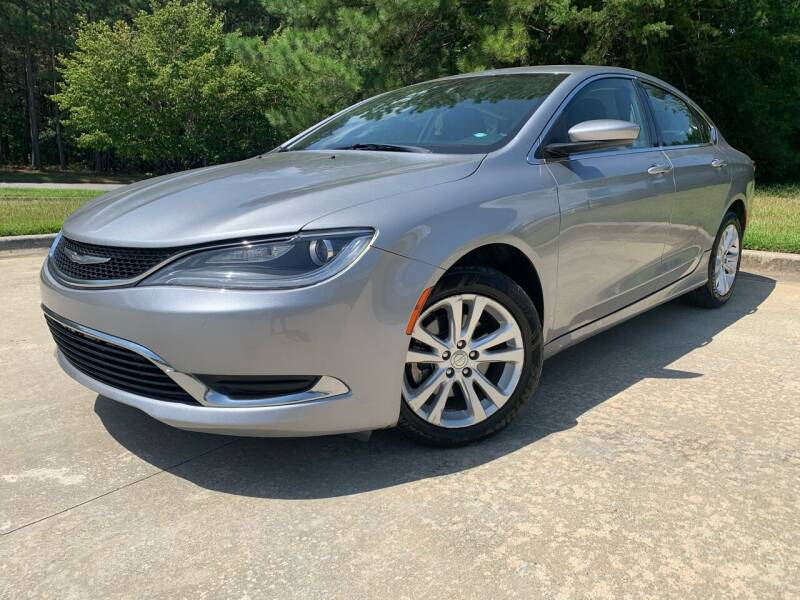 2015 Chrysler 200 for sale at el camino auto sales - Global Imports Auto Sales in Buford GA