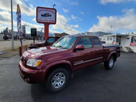 2003 Toyota Tundra for sale at Ford's Auto Sales in Kingsport TN