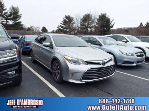 2018 Toyota Avalon for sale at Jeff D'Ambrosio Auto Group in Downingtown PA