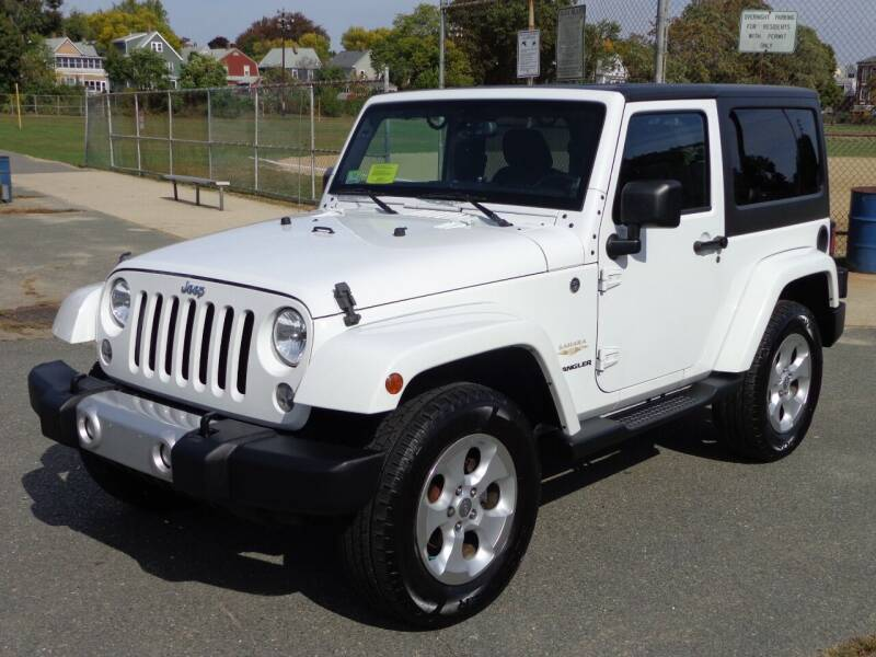 2014 Jeep Wrangler for sale at Broadway Auto Sales in Somerville MA