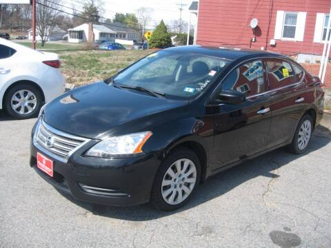 2014 Nissan Sentra for sale at Joks Auto Sales & SVC INC in Hudson NH