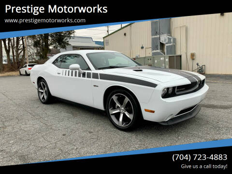 2014 Dodge Challenger for sale at Prestige Motorworks in Concord NC
