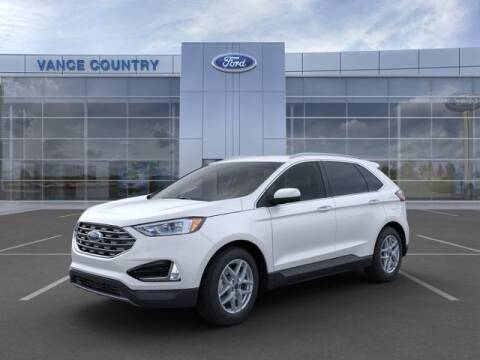 2021 Ford Edge for sale at Vance Fleet Services in Guthrie OK