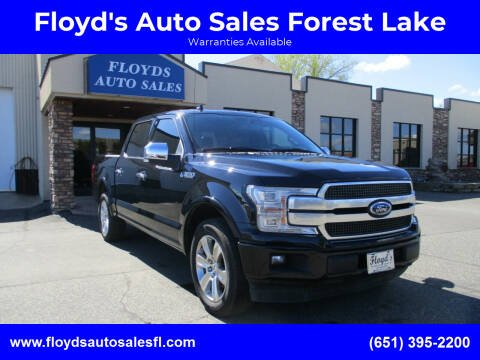 2020 Ford F-150 for sale at Floyd's Auto Sales Forest Lake in Forest Lake MN