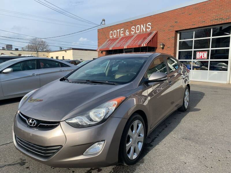 2011 Hyundai Elantra for sale at Cote & Sons Automotive Ctr in Lawrence MA
