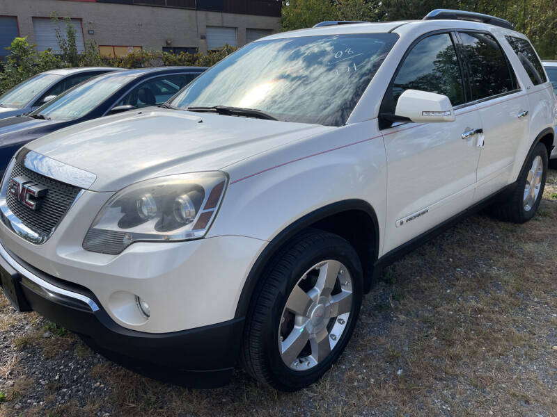 2008 GMC Acadia for sale at Branch Avenue Auto Auction in Clinton MD