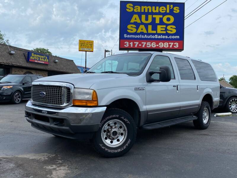 2001 Ford Excursion for sale at Samuel's Auto Sales in Indianapolis IN