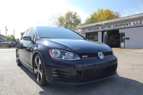 2016 Volkswagen Golf GTI for sale at Precision Motor Company LLC in Cincinnati OH