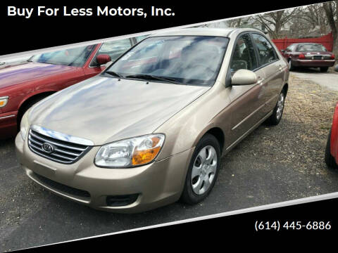 2008 Kia Spectra for sale at Buy For Less Motors, Inc. in Columbus OH