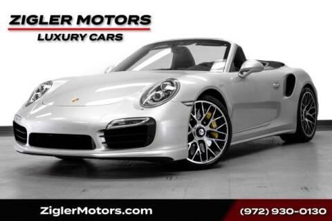 2015 Porsche 911 for sale at Zigler Motors in Addison TX