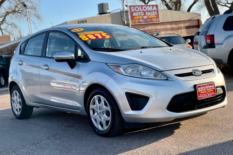 2013 Ford Fiesta for sale at SOLOMA AUTO SALES 2 in Grand Island NE