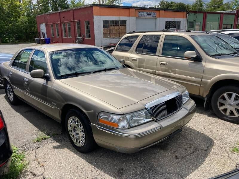 2004 Mercury Grand Marquis for sale at ENFIELD STREET AUTO SALES in Enfield CT