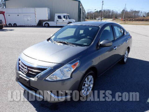 2018 Nissan Versa for sale at London Auto Sales LLC in London KY