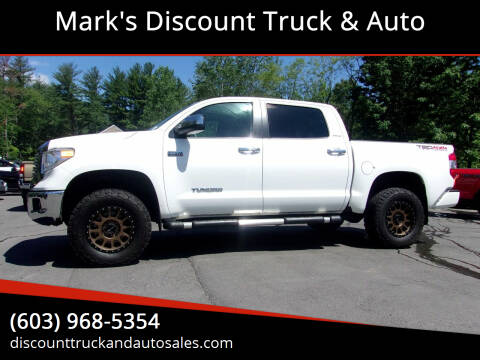 2016 Toyota Tundra for sale at Mark's Discount Truck & Auto in Londonderry NH