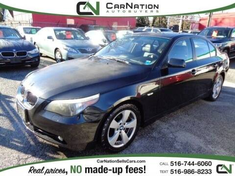 2007 BMW 5 Series for sale at CarNation AUTOBUYERS, Inc. in Rockville Centre NY