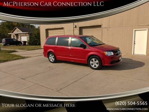 2013 Dodge Grand Caravan for sale at McPherson Car Connection LLC in Mcpherson KS