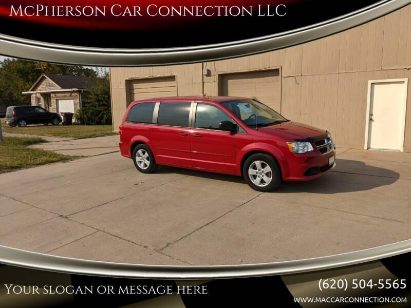 2013 Dodge Grand Caravan for sale at McPherson Car Connection LLC in Mcpherson KS