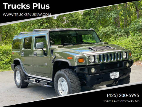 2003 HUMMER H2 for sale at Trucks Plus in Seattle WA