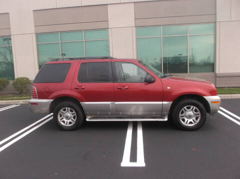 2003 Mercury Mountaineer for sale at EVB Auto Sales in Norristown PA