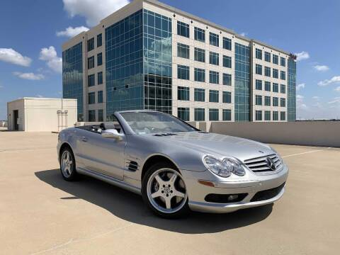 2003 Mercedes-Benz SL-Class for sale at SIGNATURE Sales & Consignment in Austin TX