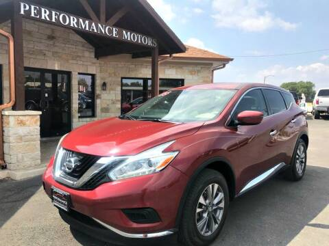 2016 Nissan Murano for sale at Performance Motors Killeen Second Chance in Killeen TX