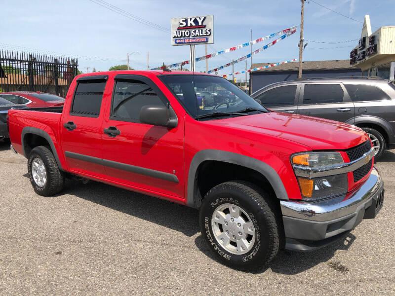 2008 Chevrolet Colorado for sale at SKY AUTO SALES in Detroit MI