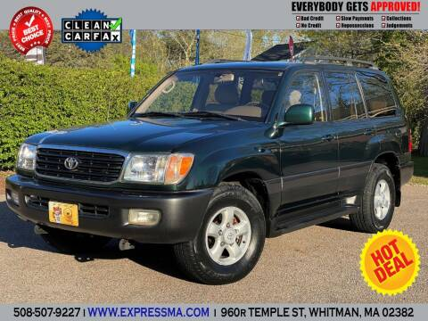 1999 Toyota Land Cruiser for sale at Auto Sales Express in Whitman MA
