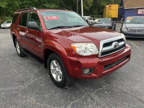 2006 Toyota 4Runner for sale at Diana Rico LLC in Dalton GA