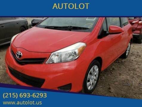 2012 Toyota Yaris for sale at AUTOLOT in Bristol PA