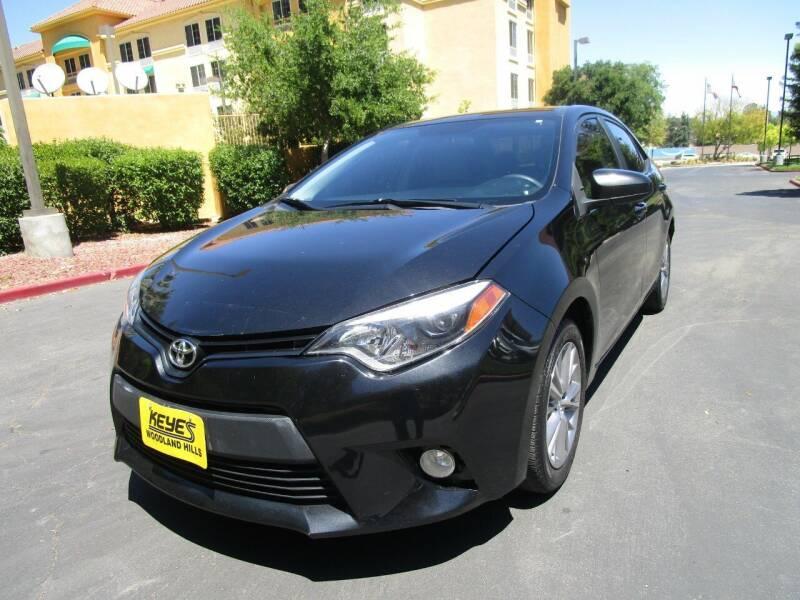 2014 Toyota Corolla for sale at PRESTIGE AUTO SALES GROUP INC in Stevenson Ranch CA