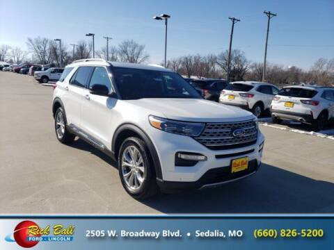 2021 Ford Explorer for sale at RICK BALL FORD in Sedalia MO
