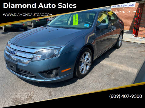 2012 Ford Fusion for sale at Diamond Auto Sales in Pleasantville NJ