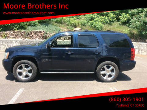 2007 Chevrolet Tahoe for sale at Moore Brothers Inc in Portland CT