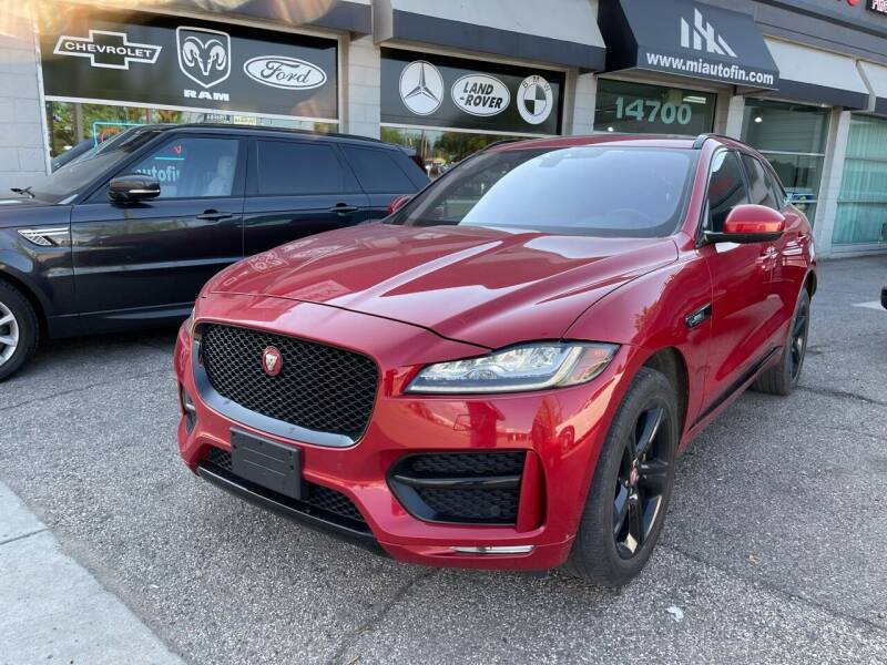 2018 Jaguar F-PACE for sale in Dearborn, MI