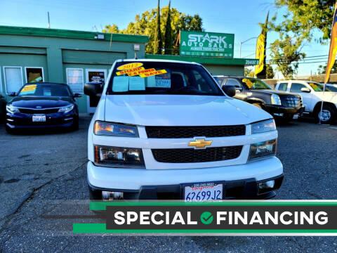 2012 Chevrolet Colorado for sale at Stark Auto Sales in Modesto CA