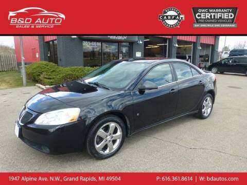2008 Pontiac G6 for sale at B&D Auto Sales Inc in Grand Rapids MI