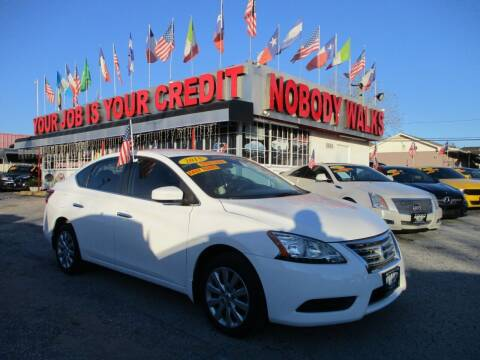 2015 Nissan Sentra for sale at Giant Auto Mart 2 in Houston TX