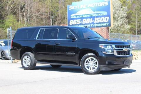 2018 Chevrolet Suburban for sale at Skyline Motors in Louisville TN