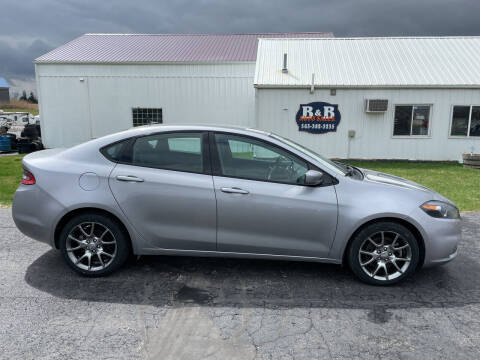 2015 Dodge Dart for sale at B & B Sales 1 in Decorah IA