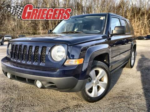 2012 Jeep Patriot for sale at GRIEGER'S MOTOR SALES CHRYSLER DODGE JEEP RAM in Valparaiso IN