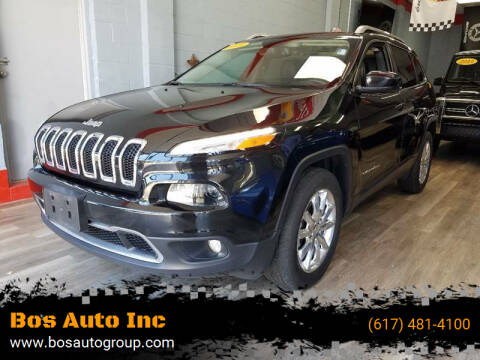 2015 Jeep Cherokee for sale at Bos Auto Inc in Quincy MA